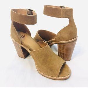 Ugg Aja Heeled Ankle Strap Shoe